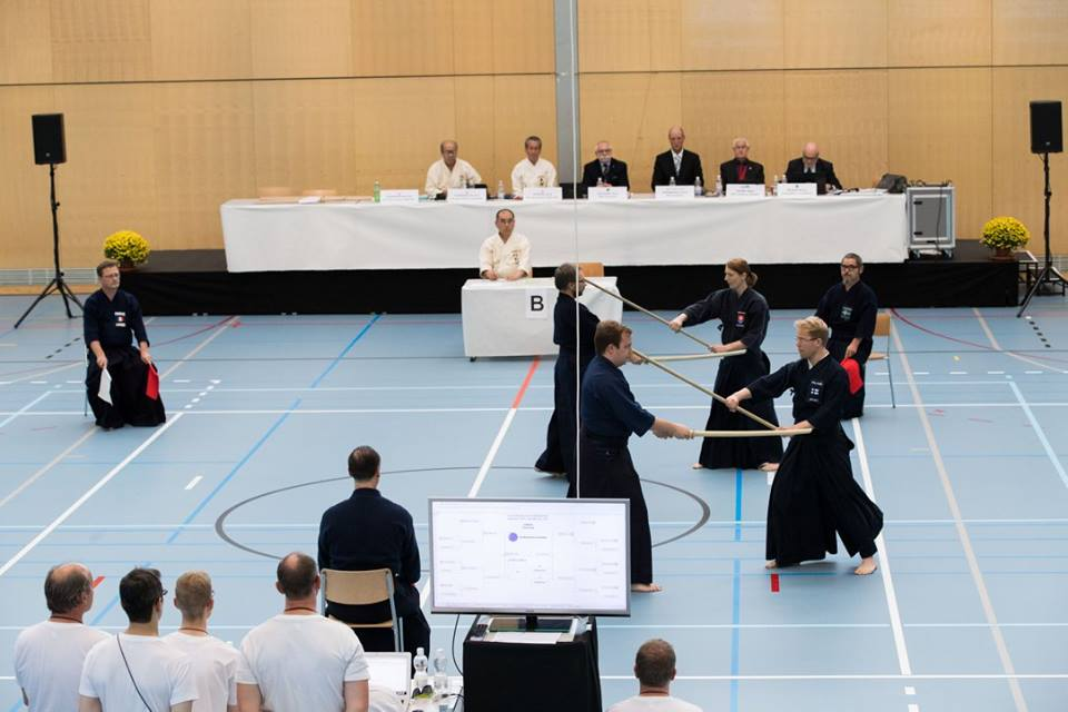 European Jodo Championships 2016 Sandan Final