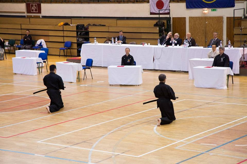 European Iaido Championships 2016 Team Final