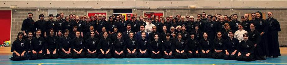 Women in Iaido seminar in Brussels, Belgium 02/2020