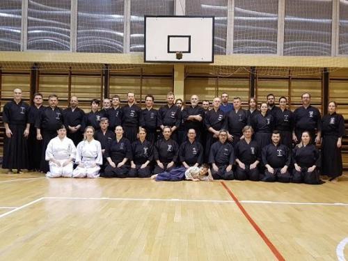 Iaido seminar with Momiyama sensei, Poznan 01/2019