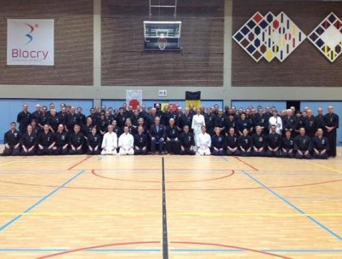 Iaido seminar, Louvain La Neuve 08/2018