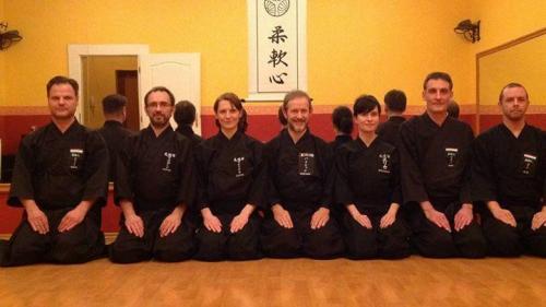 Tamiya Ryu seminar with Patrik Demuynck sensei, Budapest 11/2015