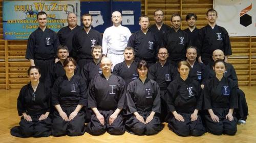 Iaido seminar with Henry Schubert sensei, Zawiercie 03/2017