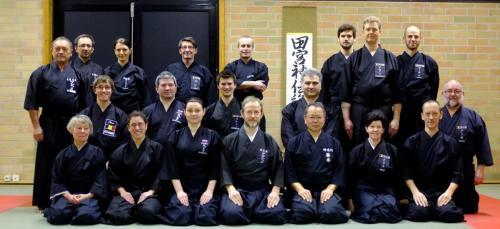 Tamiya Ryu seminar with Katsumata sensei, Belgium 03/2013