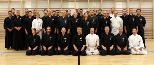 Iaido seminar with Kusama sensei, Budapest 09/2015