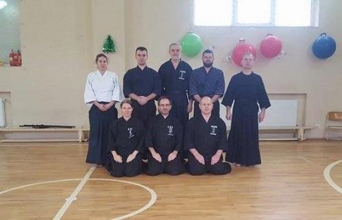 Iaido seminar with Marian Bartko, Uzhhorod 01/2018