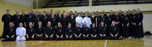 Iaido seminar with Momiyama sensei, Poznan 01/2014