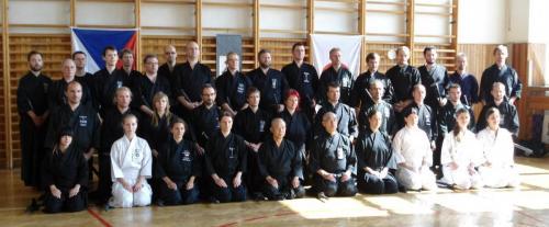 Iaido seminar with Ogino sensei, Brtnice u Jihlavy 08/2014
