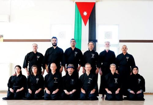 Iaido seminar with Patrik Demuynck sensei, Amman 06/2019