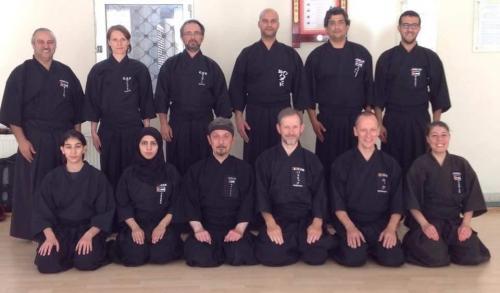Iaido seminar with Patrik Demuynck sensei, Amman 05/2016