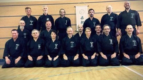 Iaido seminar with Patrik Demuynck sensei, Budapest 10/2017