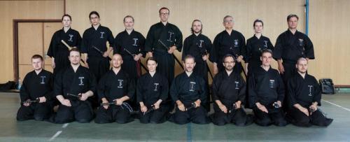 Iaido seminar with Patrik Demuynck sensei, Kosice 07/2014