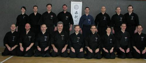 Iaido seminar with Patrik Demuynck sensei, Sopron 02/2014