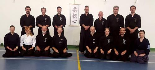 Iaido seminar with Patrik Demuynck sensei, Timisoara 06/2017