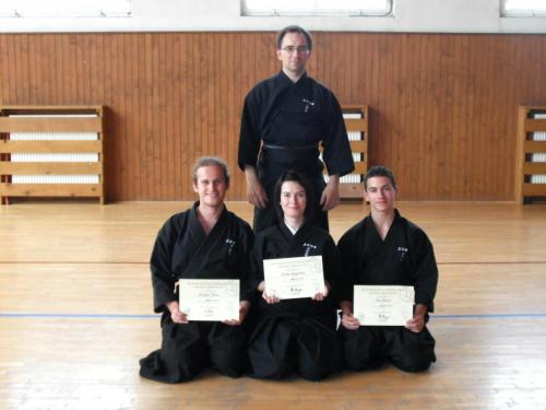 Iaido seminar with Vic Cook sensei, Slovakia 05/2010