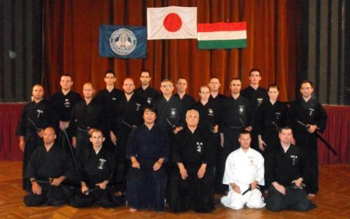 Iaido seminar with Yamasaki sensei, Budapest 10/2009