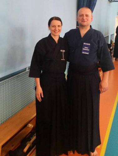 Jodo Summer Gasshuku with Andy Watson sensei, Krakow 07/2014
