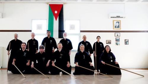 Jodo seminar with Patrik Demuynck sensei, Amman 06/2019