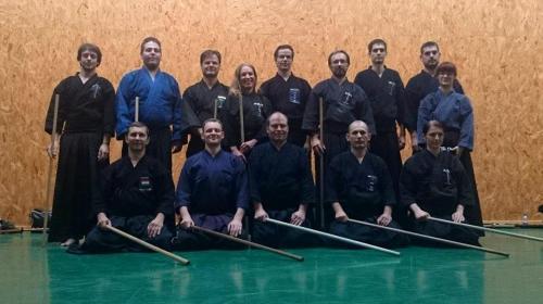 Jodo seminar with Jef sensei, Budapest 10/2014