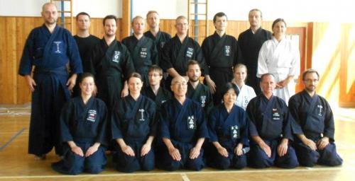 Jodo seminar with Morii sensei, Brtnice u Jihlavy, 08/2014