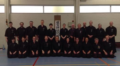Tamiya Ryu seminar with Katsumata sensei, Belgium 03/2015