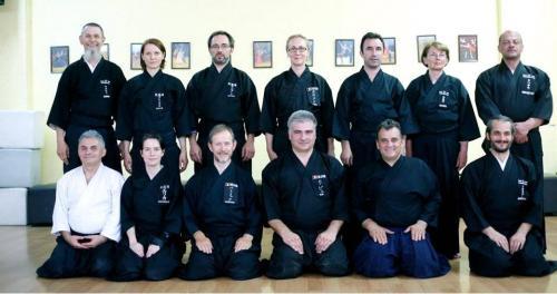 Iaido seminar with Patrik Demuynck, Timisoara 06/2016