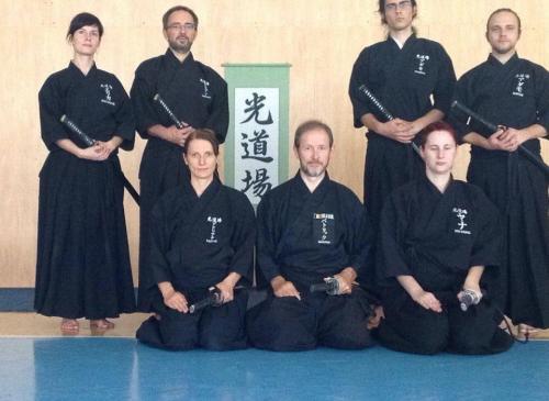 Tamiya Ryu seminar with Patrik Demuynck sensei, Kosice 08/2015