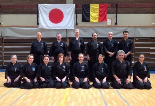 Tamiya Ryu seminar with Patrik Demuynck sensei, Louvain La Neuve 08/2015
