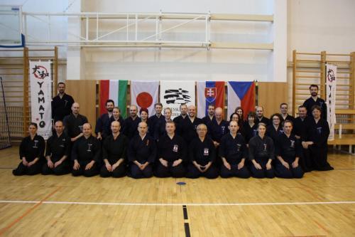 Jodo seminar with Sakaue sensei, Slovakia 03/2019