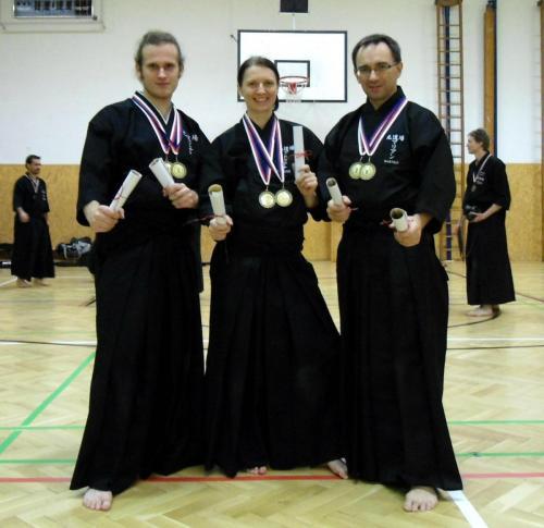 Shinbunkan Iaido Taikai, Prague 12/2012