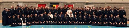 Women in Iaido seminar with Kinomoto sensei, Brussels 02/2020